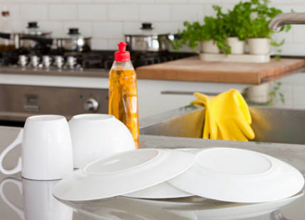 Stay slim by keeping your kitchen sparkling clean