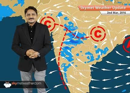 Weather Forecast for March 02: Rain likely over Madhya Maharashtra, southwest MP and Chhattisgarh
