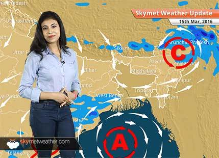 Weather Forecast for March 15: Rain in North India reduces while rain in South India increases