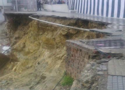 Heavy rains cause landslide near Vaishno Devi, avalanche alert in Uttarakhand