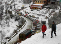 Winter rain in Jammu and Kashmir