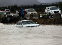 Flood in Saudi