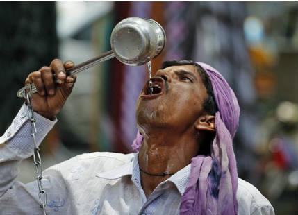 Heat in Uttar Pradesh
