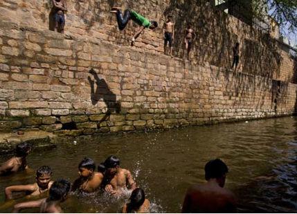 Heatwave in Bhunabeswar