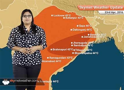 Weather Forecast for April 23: Heavy rain in Northeast India, severe heatwave in Odisha, Maharashtra