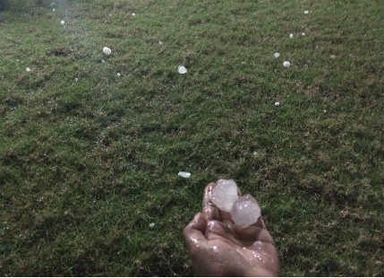 Guwahati Hailstorm