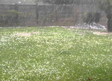 Guwahati observes hailstorm, Imphal receives highest rainfall in a decade