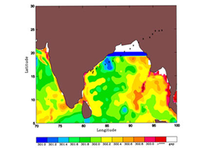 How oceanic conditions are dictating Cyclone Roanu's potential