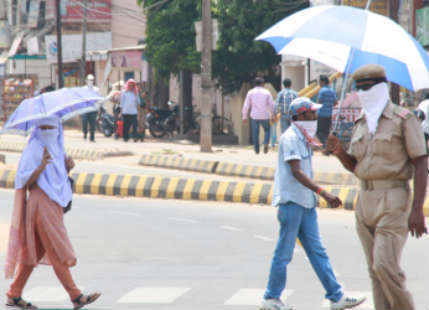 Bhubaneswar rains fail to bring down soaring Mercury