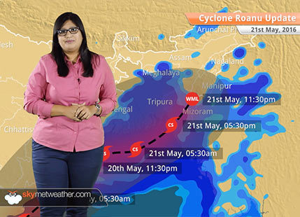 Cyclone Roanu Update May 21: Cyclone Roanu to hit Bangladesh coast, rain in Northeast India