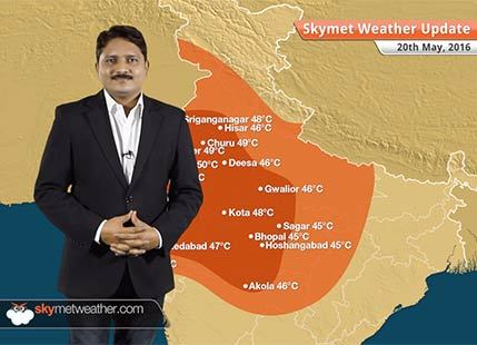 Weather Forecast for May 20: Severe heat wave over Rajasthan, Gujarat and Delhi, Cyclone Roanu to intensify