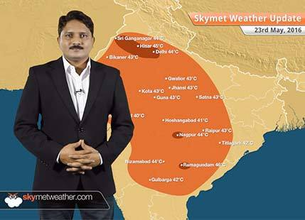 Weather Forecast for May 23: Dust storm and thundershower over north and northwest India
