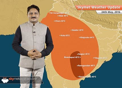 Weather Forecast for May 24: Rain in Delhi, heatwave returns to Telangana