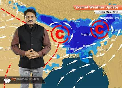 Weather Forecast for May 13: Emerging weather systems in Bay of Bengal support Monsoon