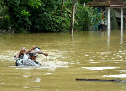 Flood in Sri Lnaka