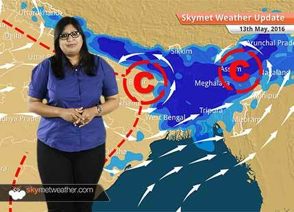 Weather Forecast for May 13: Cyclonic circulation developing in Bay of Bengal, Rain in Bangalore