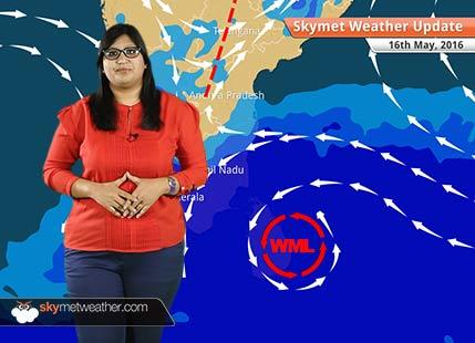 Weather Forecast for May 16: Well-marked low pressure area to intensify, rain in Tamil Nadu, Kerala