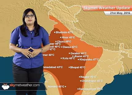 Weather Forecast for May 21: Cyclone Roanu to give heavy rain in Kolkata, Odisha, thunderstorm in Delhi