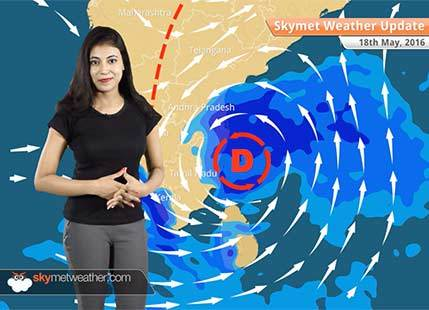 Weather Forecast for May 18: Depression in Bay may bring flood alert in Chennai, Tamil Nadu