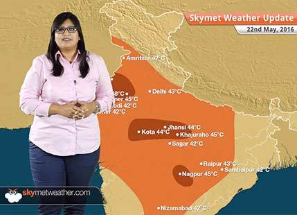 Weather Forecast for May 22: Cyclone Roanu to give heavy rain in Northeast, heatwave in North India