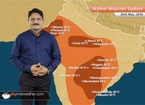 Weather Forecast for May 25: Rain in Northern hills, Mumbai, Bangalore and heatwave in Telangana