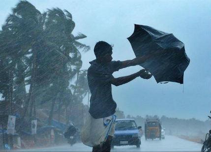 Odisha rain