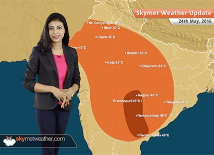 Weather Forecast for May 24: Rain in Delhi, heatwave in Telangana