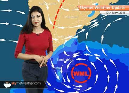 Weather Forecast for May 17: Probable depression in Bay of Bengal brings heavy rain in Tamil Nadu
