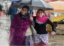 Rains in Kashmir