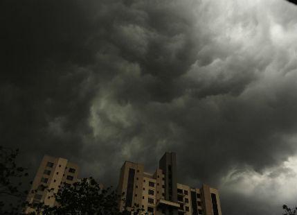 Showers in Kolkata
