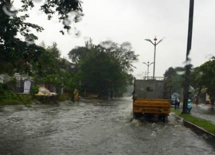 Cyclone Roanu weakens, heavy rain over Northeast India
