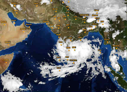 Chennai Rains summed up in these satellite images