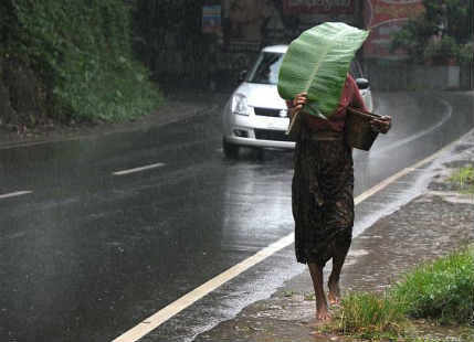 Rain in Kerala to bring relief from hot weather