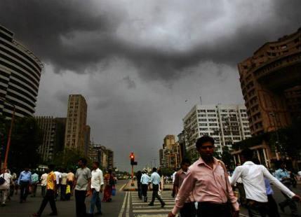 Delhi monsoon rain