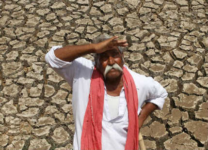 Farmer waiting for Monsoon