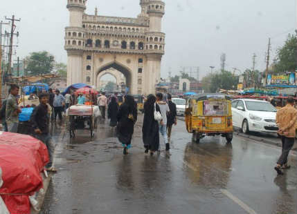 Hyderabad surpasses its monthly mean, more showers ahead