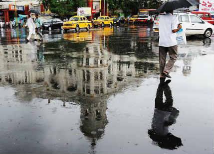Monsoon rains to continue over Kolkata