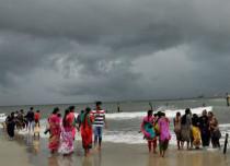 Monsoon rain in West Coast