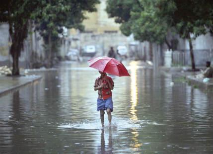 Rain over Pakistan