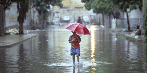 rains over Pakistan