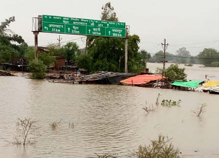 Floods in Satna