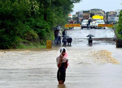 Hoshangabad receives hefty rains yet again, situation remains grim