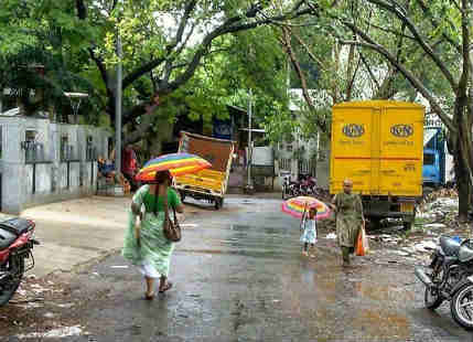 Tamil Nadu gets light rainfall, sultry weather to follow