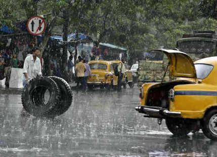 Deep depression gives heavy showers in Kolkata, more rains ahead