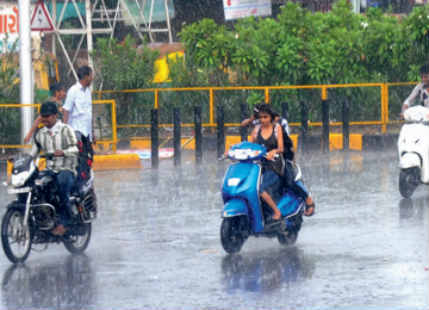 Active Monsoon conditions give widespread rain over highly deficit Gujarat
