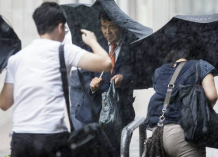 Japan witnesses a trio of tropical storms