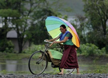 Heavy Monsoon rains ahead for rain deficient Northeast India