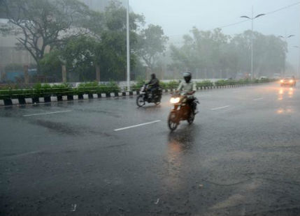 Pondicherry receives heavy Monsoon rains after long