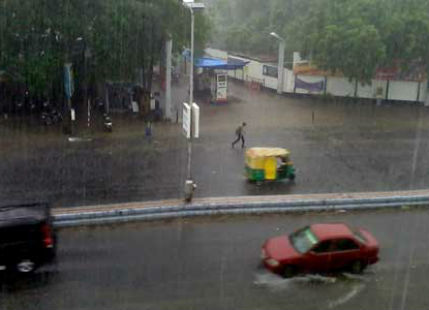 Ahmedabad receives first spell of heavy Monsoon rains in September