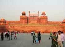 Delhi sunny weather Stockclip 429